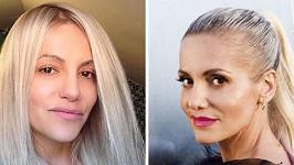 Zpěvačku byste na ulici bez make-upu a s rozpuštěnými vlasy nejspíš nepoznali.