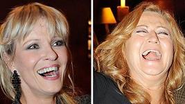 Simona Stašová a Chantal Poullain mají krásné a bezchybné úsměvy.