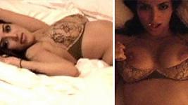 Kim Kardashian ve svém proslulém domácím videu, které uniklo na veřejnost...