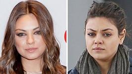 Mila Kunis viditelně přibrala.