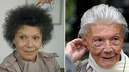 Zdena Procházková v roce 1985 a dnes