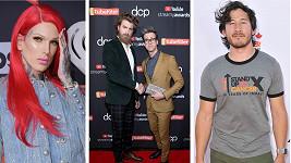 Tito youtubeři patří mezi nejlépe placené hvězdy internetu.