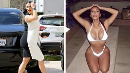 Kim Kardashian zavzpomínala na náročné období těhotenství.