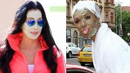 Pro Mašlíkovou se nespíš stala inspirací výstřední zpěvačka Cher.