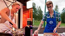 Nový pár v kuchařské show.