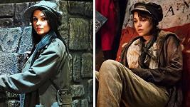 Neskutečná podoba. Britská herečka Samantha Barks jako by Magdě Malé z oka vypadla.
