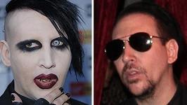 Marilyn Manson je v civilu normální chlap.