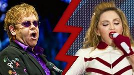 Elton John nemá Madonnu v lásce.