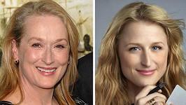 Meryl Streep a její dcera Mamie Gummer jsou k nerozeznání.