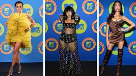 MTV EMA 2020 se neslo v duchu minisukní a hlubokých výstřihů.
