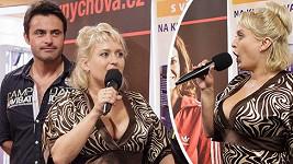 Vnadná Miluška Bittnerová si dobírala kolegu.