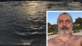 Daniel Hůlka relaxuje v Mexiku.