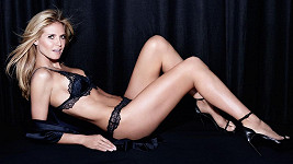 Modelka pro svou řadu Heidi Klum Intimates