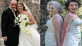 Po jedenadvaceti letech si znovu slíbili manželství, tentokrát jako dvě ženy.