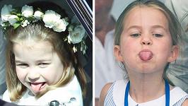 Princezna Charlotte slaví 5. narozeniny.