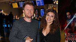 Denisa Pfauserová s přítelem