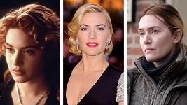 Kate Winslet se proměnám nebrání.