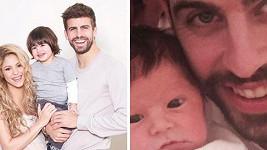 Shakira a Gerard Piqué konečně ukázali i druhého synka.
