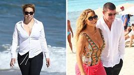Mariah Carey bude nejspíš opět maminkou.