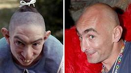 Přítel Leony Šenkové a Pepper ze seriálu American Horror Story. Najdete aspoň jeden rozdíl?