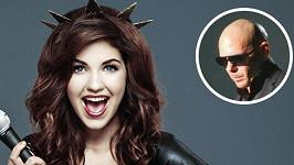 S Celeste bude spolupracovat raper Pitbull.