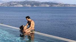Alena se svým italským přítelem Alessandrem