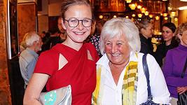 Petra Špalková s maminkou