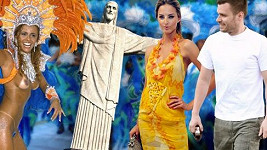 Leoš a Míša navštívili karneval v Riu.