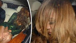 Beyoncé si užila divoký a dlouhý mejdan.