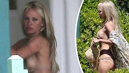 Pamela Anderson se opět odhalila.