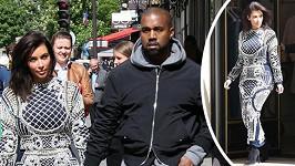 Kim Kardashian si pořídila další příšerný outfit.