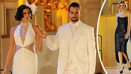 Vignerová sice nemá ženich, ve svatebních šatech jí to ale sekne.