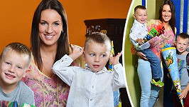 Pro nejstaršího syna Lucie Králové byl dnešek prvním školním dnem.