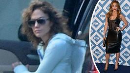 Dvě podoby Jennifer Lopez.