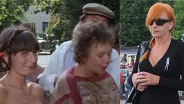 Rudá Sonja v roce 1991 a dnes. Už tehdy to byla chytrá a odvážná hlavička!