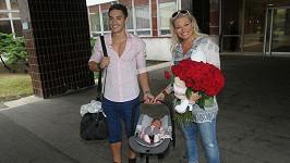 Lucie Borhyová a Michal Hrdlička si svou holčičku dnes odvezli domů.