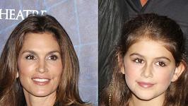 Cindy Crawford a Kaia Jordan jsou si velmi podobné.