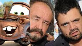 Buráka z filmu Auta už nemluví Petr Novotný, nýbrž jeho syn.