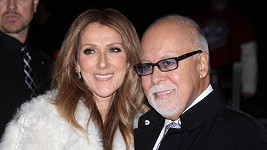 Céline Dion s manželem.