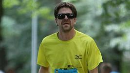 Viktor Limr během závodu.