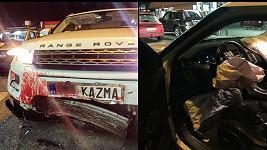 Takhle dopadlo auto Kazmy po nehodě.