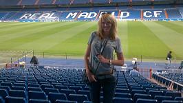 Diana dnes večer vstoupí přímo na trávník stadiónu San Bernabeu před zápase Realu Madrid proti Manchesteru City.