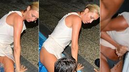 Opilá Dominika Mesarošová ukázala víc, než chtěla. Více ve fotogalerii.