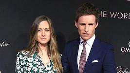 Eddie Redmayne s manželkou Hannah
