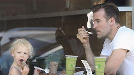 James Van Der Beek s dcerou Olivií