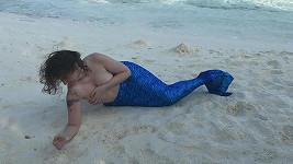 Tohle není mořská panna, ale spíše velryba...
