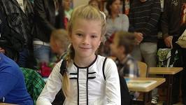 Vanessa je jako školačka nádherná.