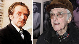 Jiří Hálek v roce 1976 a dnes