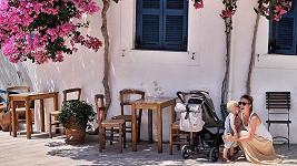 Andrea Růžičková vyrazila s rodinou do Řecka.