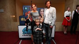Michaela Maurerová s rodinou
